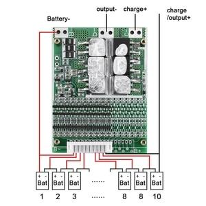 Image 3 - 10S 36V 35A Li Ion Lipolymer Batterij Bescherming Boord Bms Pcb Voor E Bike Elektrische Scooter