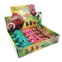 12PCS Innovative Dinosaur Mesh Shaped Squishy Balls Decompression Squeeze Toys For Children