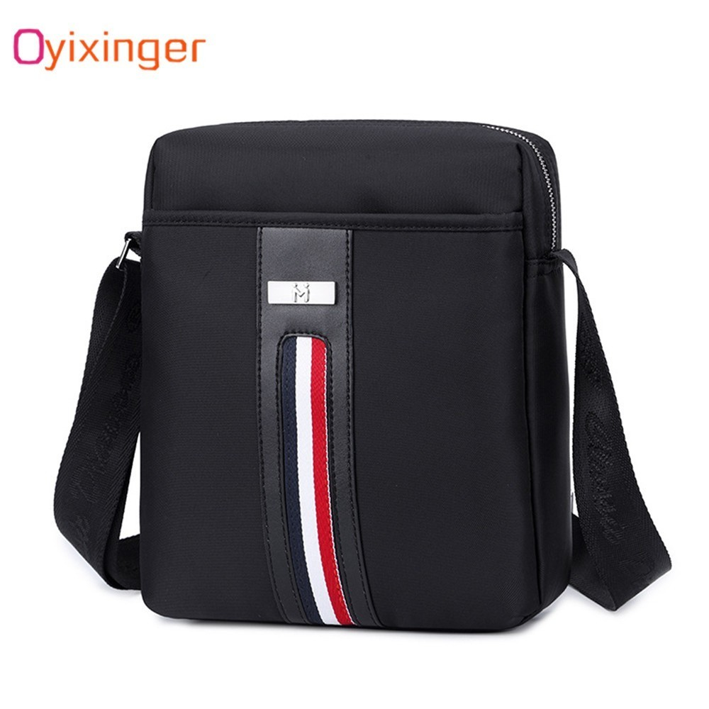 OYIXINGER Fashion Business Man Vertical Section Waterproof Oxford Cloth Briefcase Single Shoulder Satchel Office Bags For MenOYIXINGER Fashion Business Man Vertical Section Waterproof Oxford Cloth Briefcase Single Shoulder Satchel Office Bags For Men
