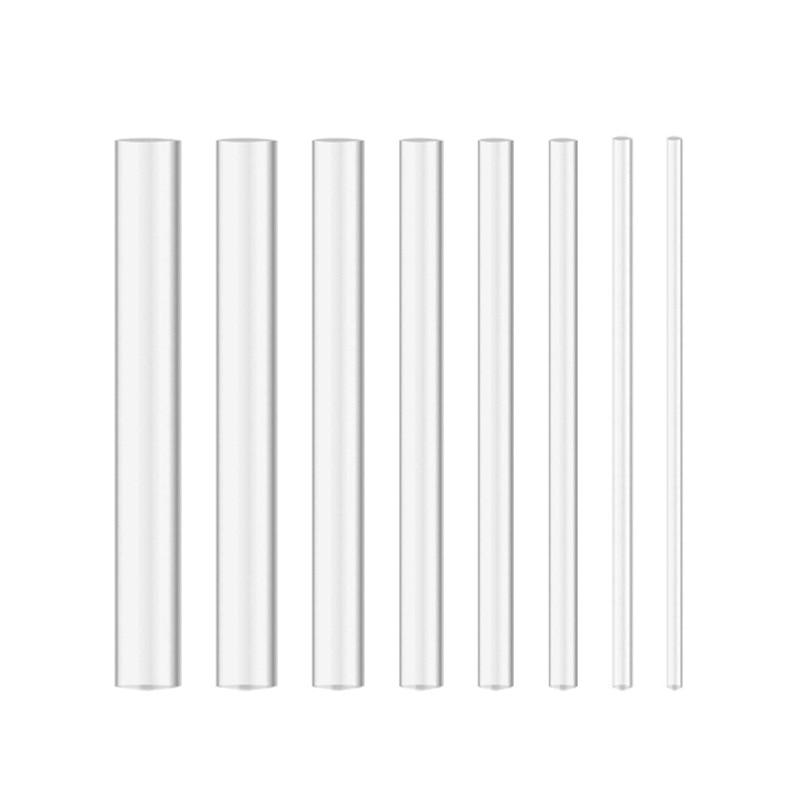 Rod 5mm Diameter Plexiglass Acrylic Clear 50mm Long 1 Rod Bonus Same Size