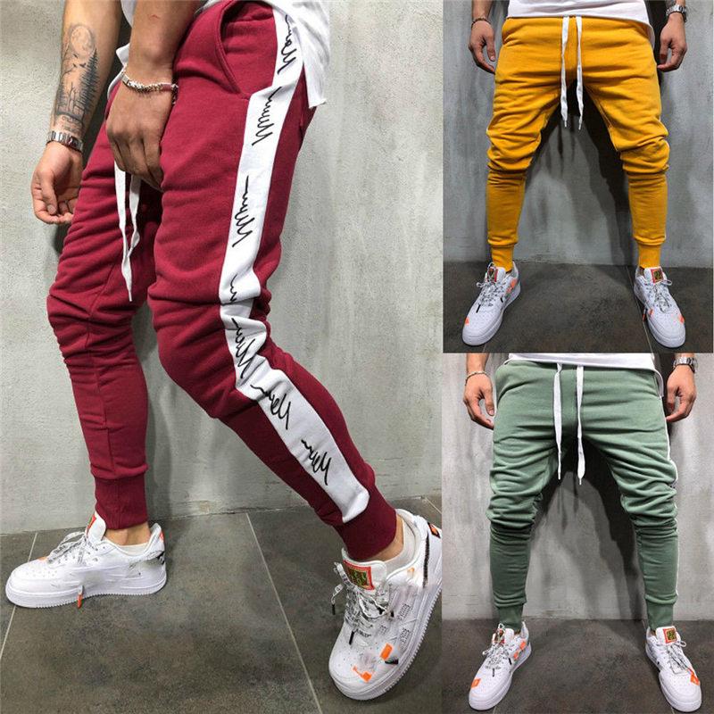 Hirigin Casual Loose Harem Comfort Loose Mens Slim Pants Fit Tracksuit Bottoms Skinny Jogging Joggers Sweat Pants For Male Gift