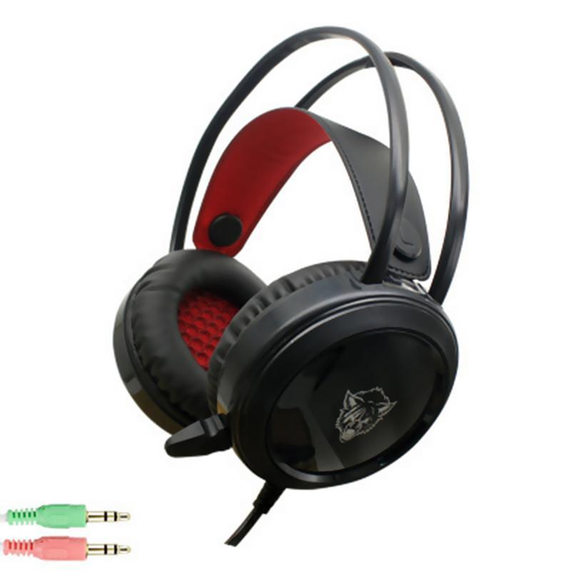 Gewetensvol Gaming Headset Ruisonderdrukkende Microfoon Stereo Geluid Oortelefoon Lichtgevende Muziek Oortelefoon Magneet Voor Xbox Een Ps4 Pc Hoofdtelefoon