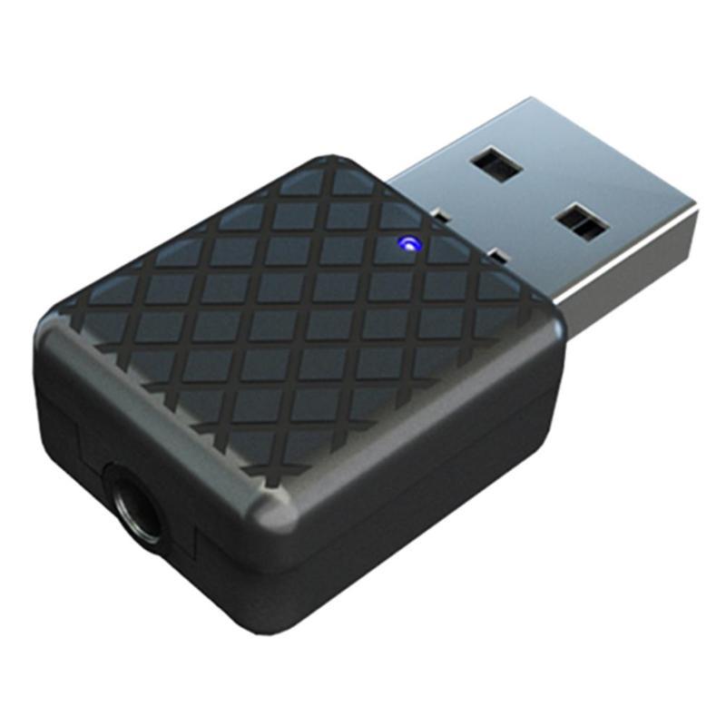 KN322 sans fil Bluetooth récepteur émetteur Portable Dongle stéréo pour voiture Audio musique Aux 3.5mm adaptateur mains libres appel