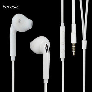 Image 4 - 100 pcs / lot kecesic S6 Earbuds New with Mic 3.5mm high quality Earphone for Samsung Galaxy S6 for s7 Edge s8 Earphones
