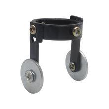 Çelik rulo kılavuz tekerlek P80 dayanıklı plazma hava kesici meşale konumlandırma kesme tabancası aksesuarları (iki vidalı konumlandırma)