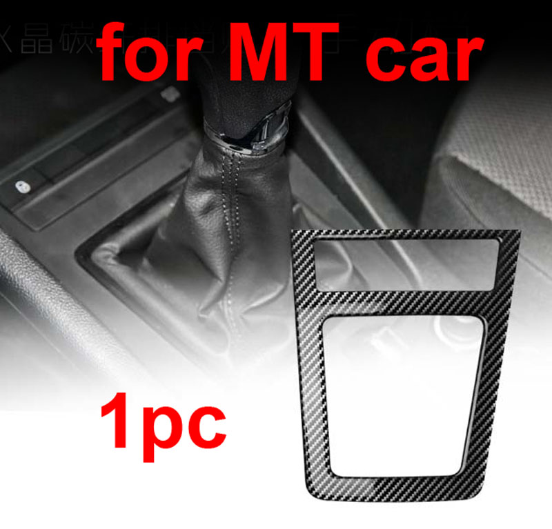 for SKODA Octavia MT AT 2015 2018 Stall panel Decorative sticker Car window Button decorative frame Carbon Fiber Pattern in Interior Mouldings from Automobiles Motorcycles