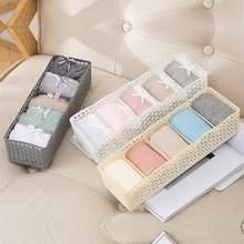 0eb9e0309 ONÇA 1 pc Meias Underwear Caixa De Armazenamento De Plástico Organizador  Titular Recipiente Empilhável Calcinhas Sutiãs