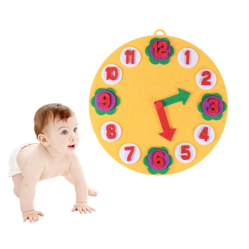 1 Set Children Kindergarten Numbers Teaching Nonwoven Felt DIY Handmade Educational Toy