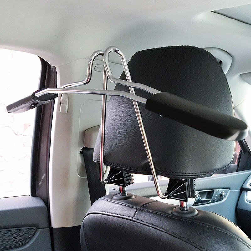 OHANEE Car Coat Hanger Auto Back Seat Headrest Clothes Suits Shirts Jacket Holder Hook Stainless Steel Accessories Car Styling