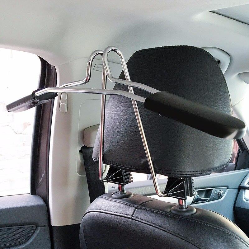 Автомобильная вешалка для пальто OHANEE, подголовник на спинку сиденья, комплект одежды, рубашки, Держатель куртки, крючок, аксессуары из нержа...