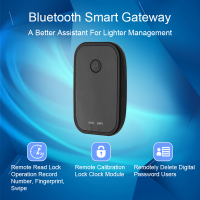 OULET Door Lock App Bluetooth Smart Electronic Door Lock Fingerprint Door Lock WIFI Adapter