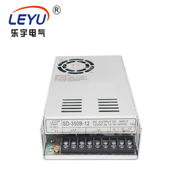 LED Lamp power SD-350B-12 350W single output 24VDC  to 12VDC  switching power supply