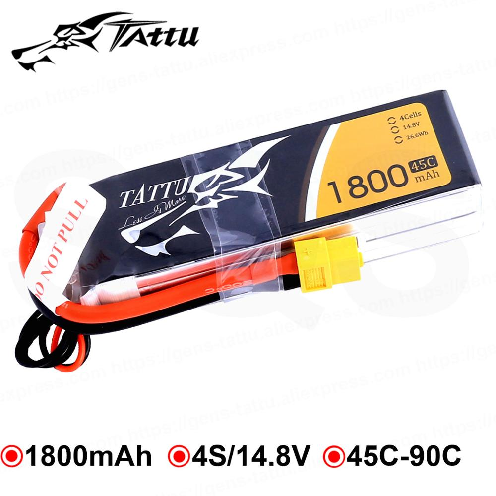 4X 4S 14.8V 2200mAh 45C T Plug Li-Polymer Battery Pack For RC Car Airplane Drone