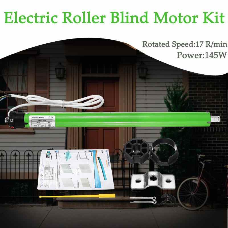 Home TM35S 220V Tubular Motor Roller Shade Electric Curtain Motorized Rolling Blind Shutter  Anti-theft Window