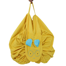 Home portable children's toy storage bag game pad blanket outdoor drawstring rope home travel