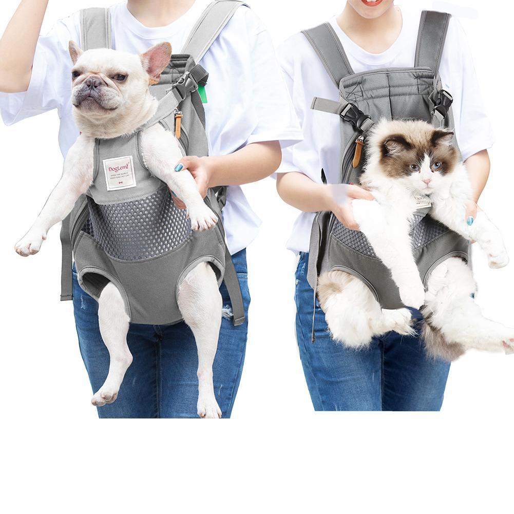 font b Pet b font Dog Cat Backpack Outdoor Travel Bag Chest Bag Backpack Carrier
