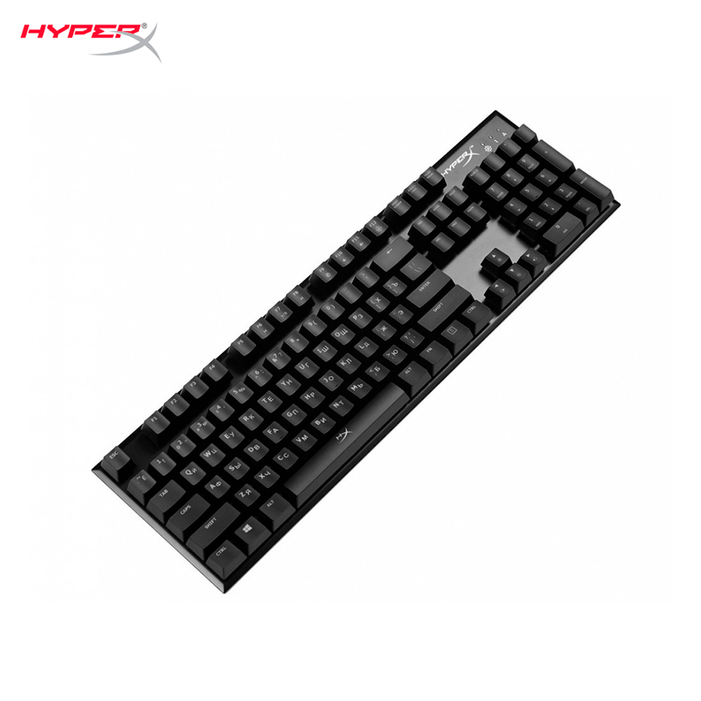 PC computer gaming mechanical backlit keyboard HyperX Alloy FPS Cherry MX Blue cyber sports 2 4g wireless roll up flexible computer silicone keyboard blue