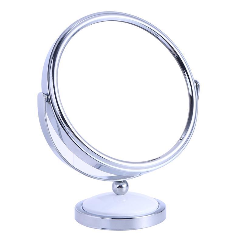 Spiegel Pflichtbewusst Tabletop Eitelkeit Spiegel Doppel-seitige Vergrößerungs Make-up Spiegel Mit 360 Grad Rotation-größe L MöChten Sie Einheimische Chinesische Produkte Kaufen? Schminkspiegel