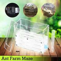 15x5.4x11cm Large DIY Moisture With Feeding Area Ant Nest Ant Farm Plastic Insect Nests Villa PET For House Ants