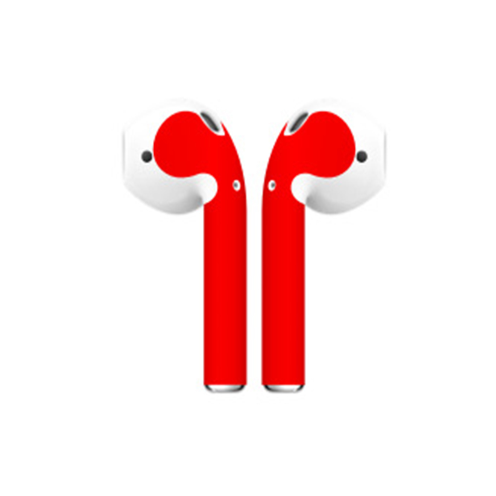 Image 5 - Fine Skin Sticker For Apple Airpods Air Pods Earphone Sticker Earphone Accessories-in Stickers from Consumer Electronics