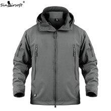 2018 Hunting clothes Outdoor Shark Skin Tactical millitary Softshell Jacket Suit Men Waterproof Combat Jacket стоимость
