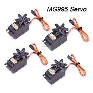 Image 2 - MG995 Servo เกียร์โลหะดิจิตอล RC Car Servo หุ่นยนต์ MG996R เฮลิคอปเตอร์เรือ MG995 MG996R