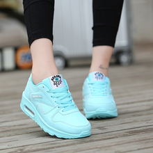 new lightweight comfortable breathable lace-up Women's casual shoes sneakers adult Popular Increased bottom tenis feminino
