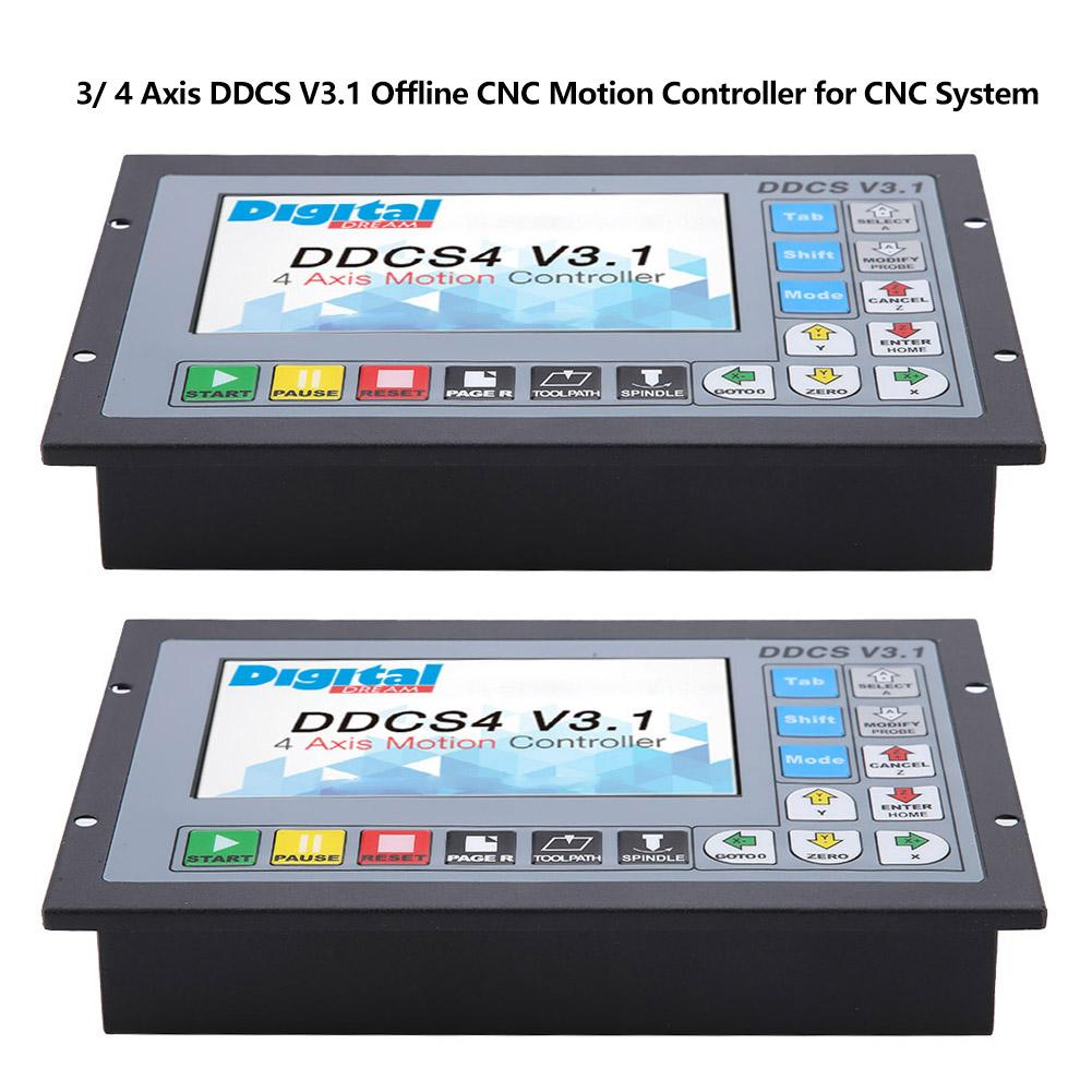 HOT SALE] Free shipping!3 Axis / 4Axis offline motion controller