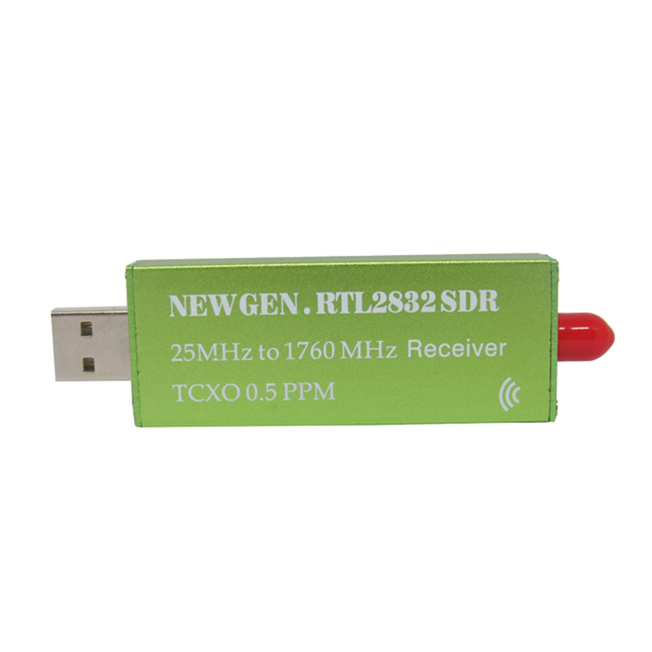 RTL SDR receiver RTL2832 SDR USB dongle with 0 5ppm TCXO SMA S300U 2018 New  Generation