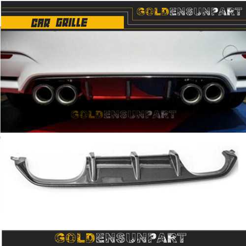 Carbon Fiber Rear Diffuser 2014 + M3 Sedan M4 Coupe Cabrio Rear Bumper Lip For BMW M3 F80 M4 F82 F83Carbon Fiber Rear Diffuser 2014 + M3 Sedan M4 Coupe Cabrio Rear Bumper Lip For BMW M3 F80 M4 F82 F83
