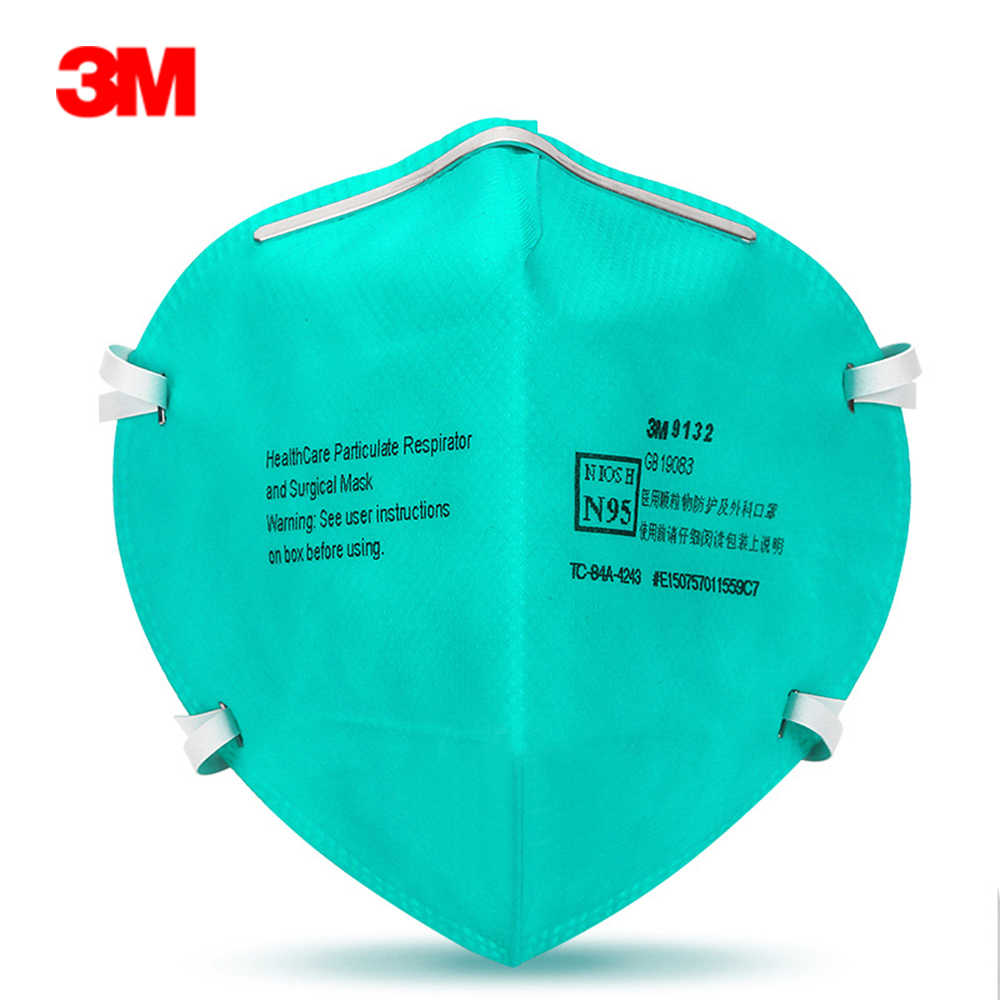 9132 N95 Surgical Respirator 1pc 3m Mask lot Particulate