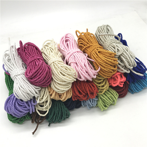 Image 1 - 10yards Paracord Rope 3mm 3 Strand Polypropylene Rope Home Decoration Accessories Rope For Bracelet Rustic Home Decor