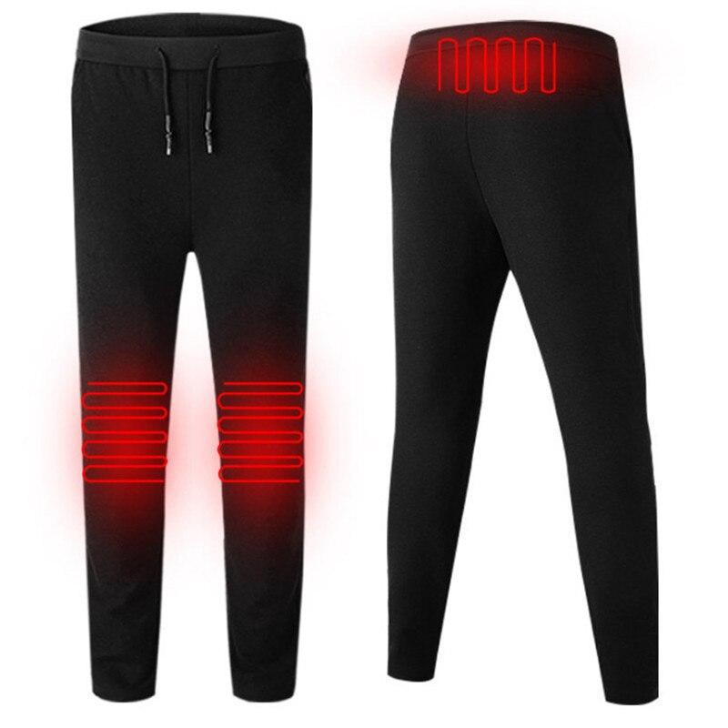 Chaud hommes ou femmes chauffage infrarouge randonnée pantalon chaud pas froid pantalon pour pêche en plein air Ski élastique pantalon