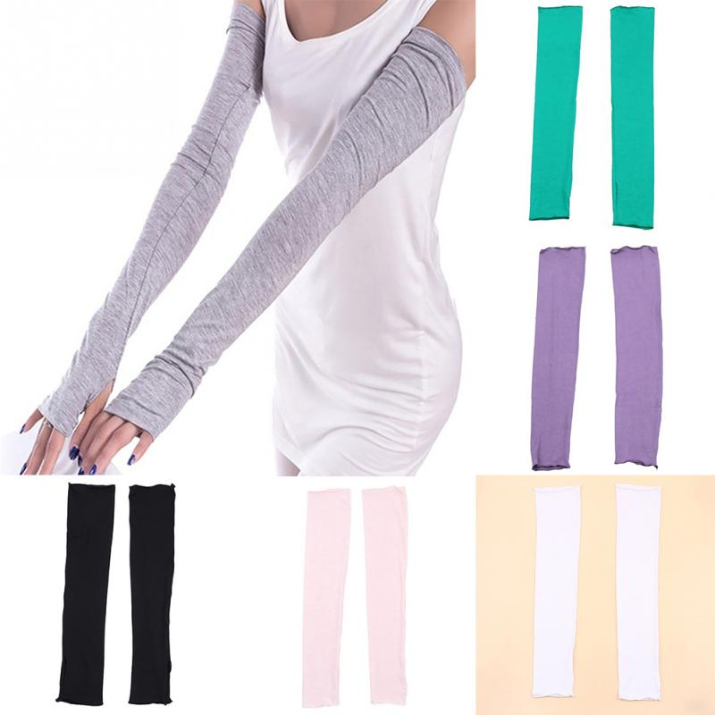 New Men Women UV Sun Protection Arm Warmers Sleevelet Cover Hot Summer Sun Protection Arm Sleeves 6 Colors #40