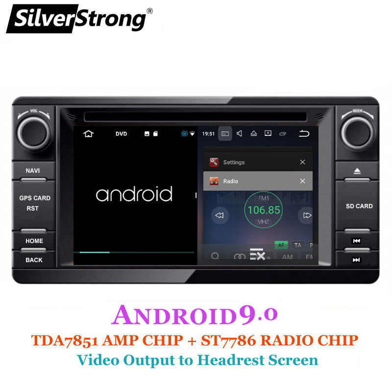SilverStrong Android9.0 2din coche DVD GPS para MITSUBISHI OUTLANDER 2014-2017 DVD GPS para Outlander Pajero de Radio DAB + wifi