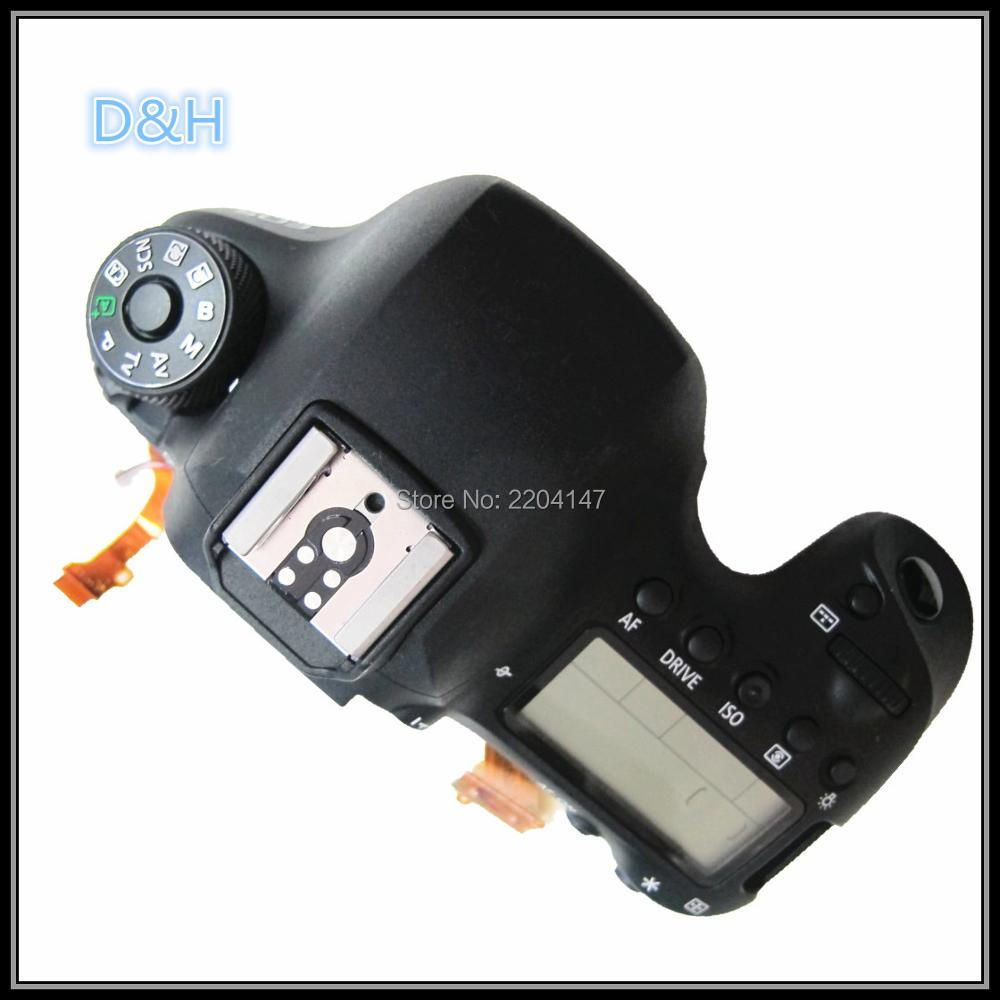 100% pièces d'origine de réparation d'assemblage de couvercle supérieur pour Canon EOS 6D Mark II; 6DII 6D2 SLR