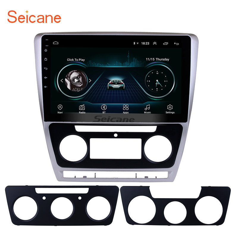 Seicane 10 1 Android 8 1 HD Touch Screen for 2007 2014 VW Volkswagen SKODA Octavia