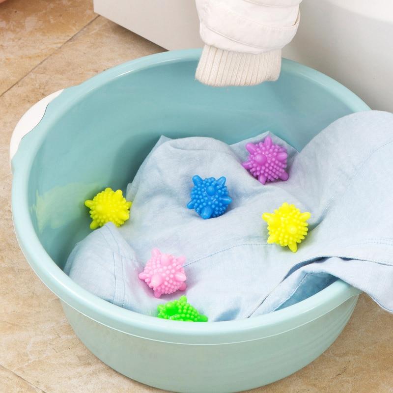 1 шт. моющие шарики в стиральной машине смягчитель не химический кондиционер для одежды эко стиральная машина очистка мяч