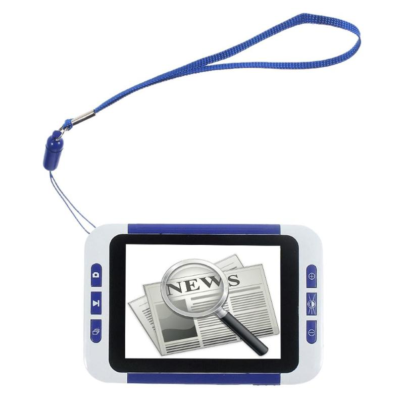 32X 3.5 Inch Portable Digital LCD Magnifier Low Vision Electronic Visual Aids Video Microscope for Old Man Children Kids EU/US