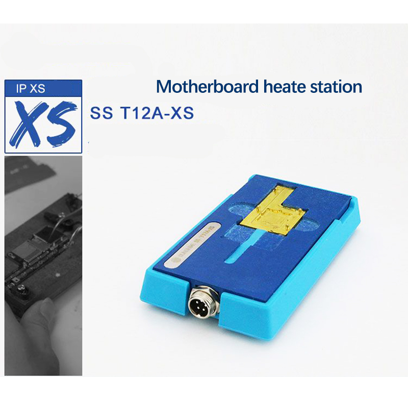 Motherboard CPU IC Chips Desoldering Heating Station for iPhone X XS MAX Soldering Repair Tool Disassembly Platform SS-T12A