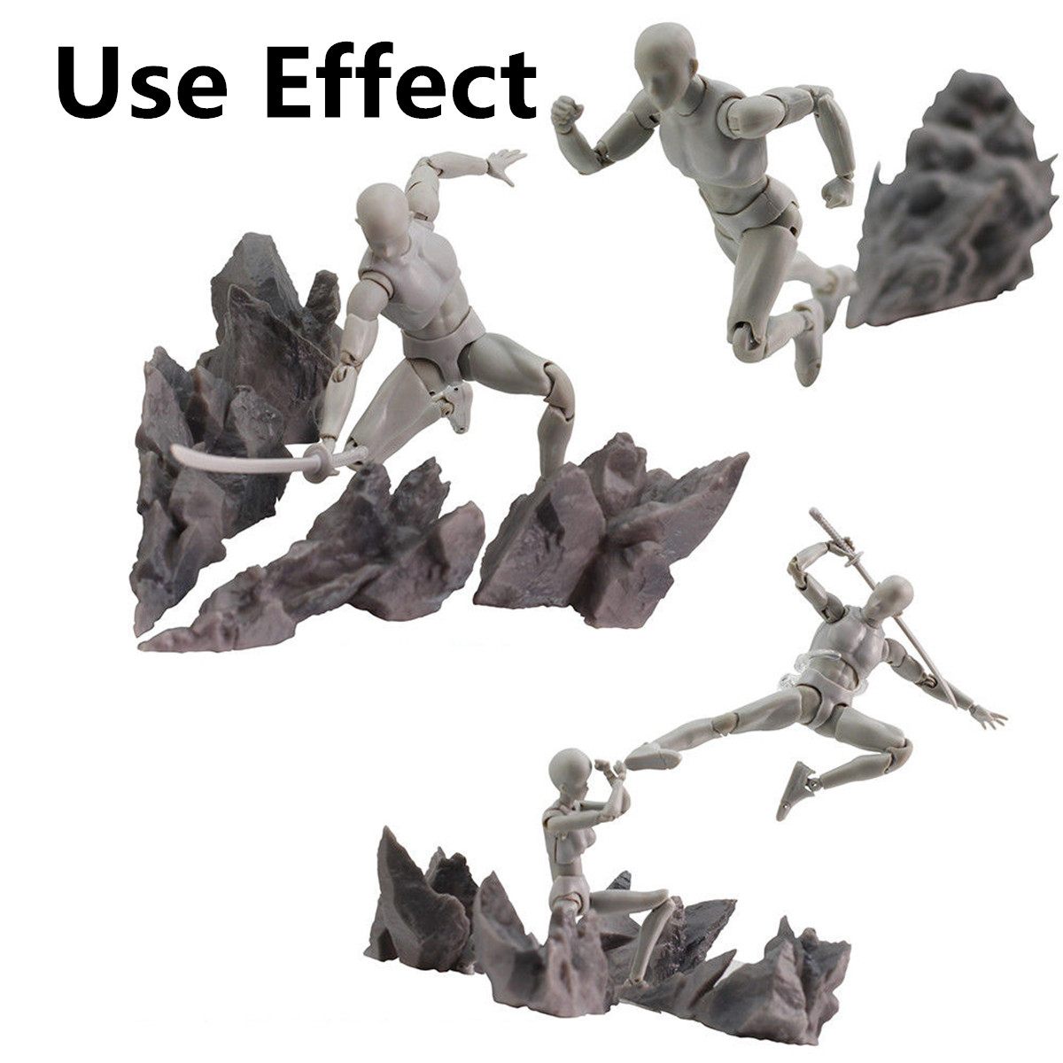 DIY Anime Figure Burning Effects Display Stand for S.H.Figuarts Tamashii Toy