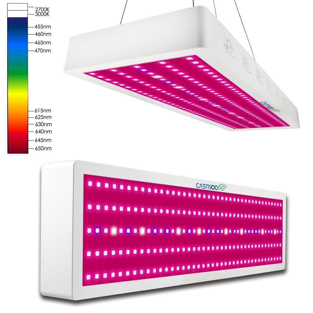 CASTNOO 1000W LED Grow Light Panel Lamp Hydroponic Plant Growing Full Spectrum