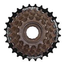 MTB велосипед 7/8 скоростная кассета для горной дороги велосипед свободного хода Cog Звездочка маховик Металлическая резьба Звездочка Запчасти для велосипеда аксессуары