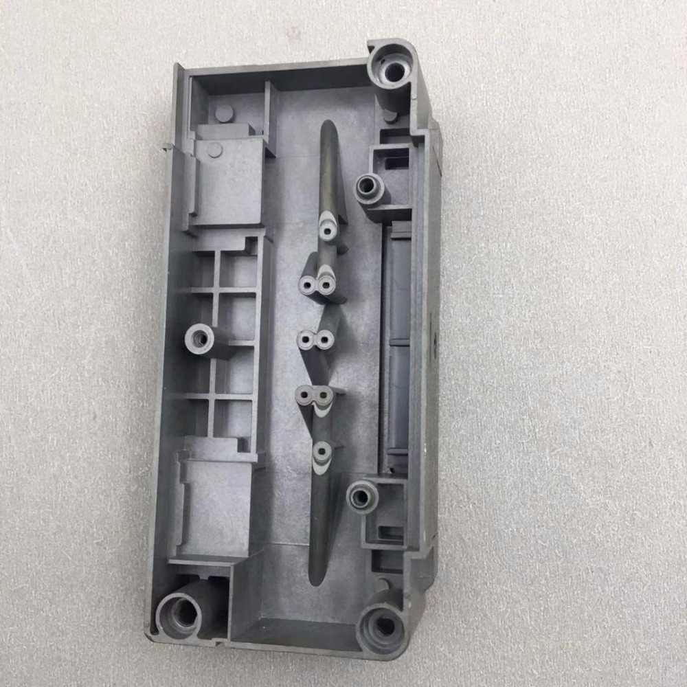 Original untuk Epson DX5 F186000 Printhead Pelarut Adaptor Manifold untuk Mimaik Mutoh Skycolor Witcolor Aifa Printer Penutup Kepala