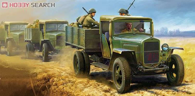 The 32577 Military Model Assembled Armored Military Vehicles 1:48 Russian 1.5T Cargo Truck 1941