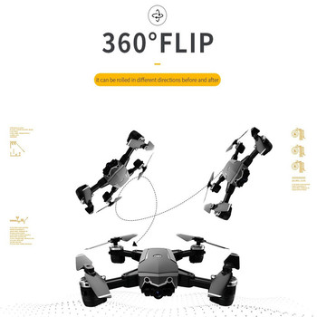 JDRC JD-20S JD20S PRO WiFi FPV Drone w/ 5MP 1080P HD Camera 18mins FlightTime Foldable RC Mini Drone Quadcopter Helicopter RTF 5