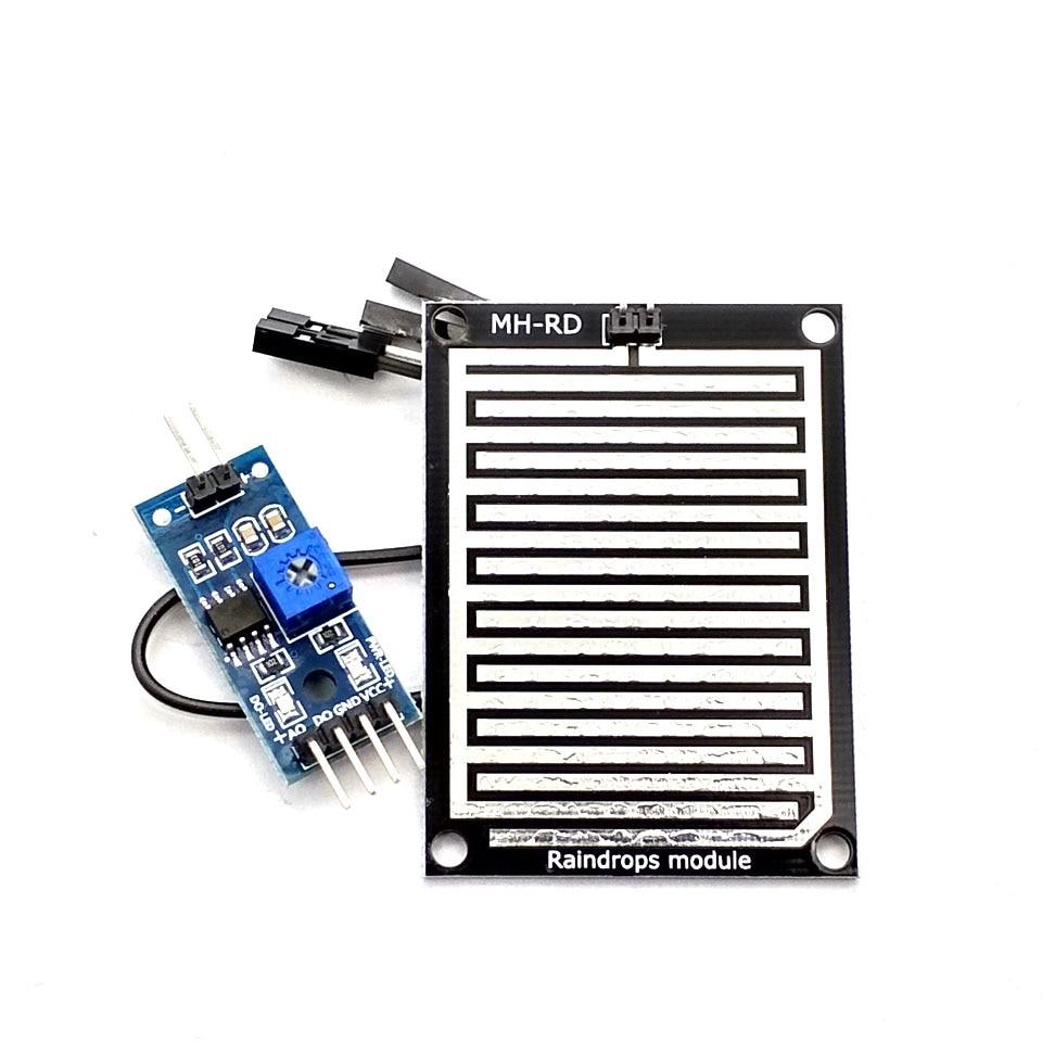 1set/lot Snow/Raindrops Detection Sensor Module Rain Weather Module Humidity For Uno