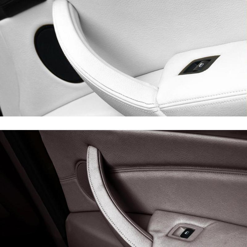 Lega di alluminio interno acqua Cup Holder Button cover Trim pezzi per auto di multimediale