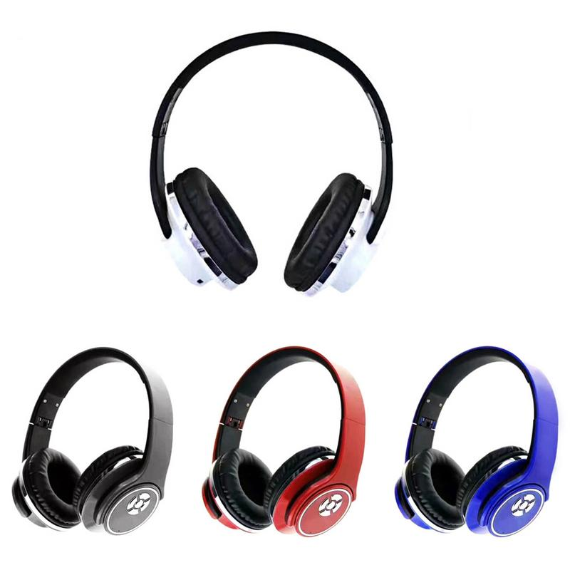 1 Fm Card Multifunction Radio Headphones Audio Input For Phone Tablet In New Wireless Bluetooth Headphones Game Headset 2