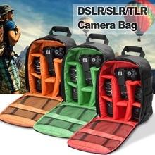Водостойкая камера мешок сумка для хранения рюкзак для Canon для Nikon для DSLR/SLR/TLR камеры
